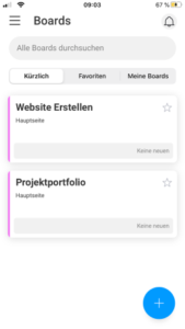 monday.com App - The Board Overview