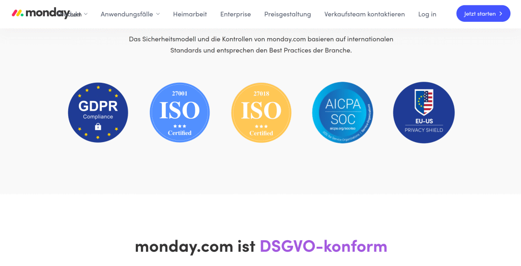 Privacy and security at monday.com