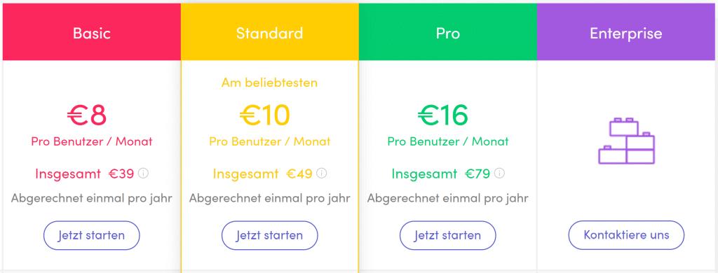 Costs at monday.com