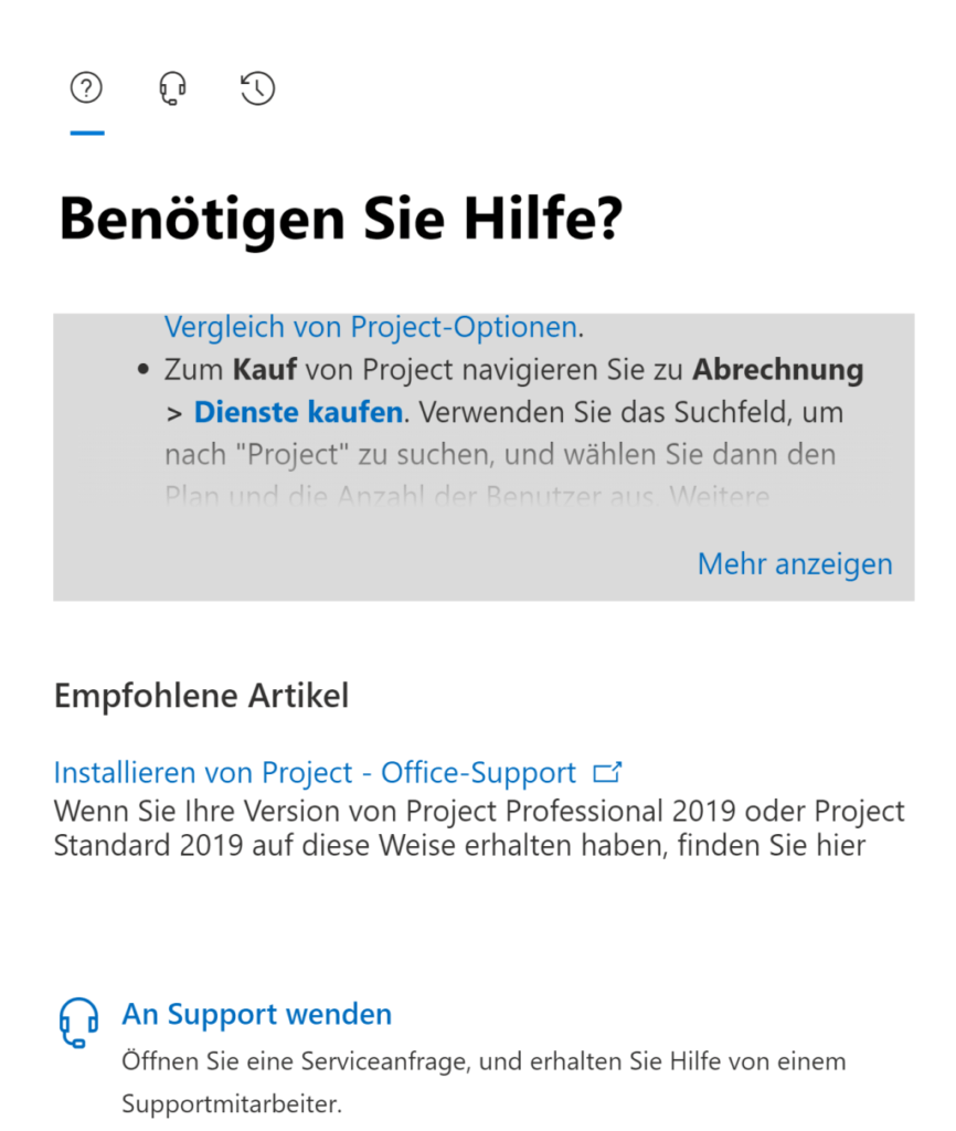 Support of Microsoft 365