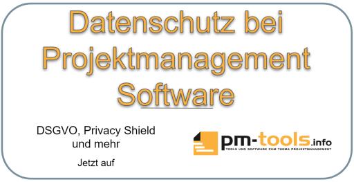 DSGVO und Datenschutz bei Projektmanagement-Software