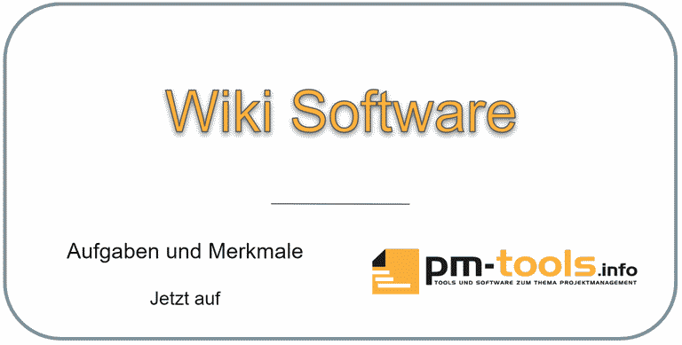Wiki-Software und Tools